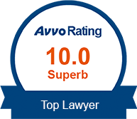 10.0 Avvo Rating Superb Top Lawyer