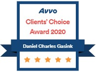 AVVO Client Choice Award for 2019 - Daniel Charles Gasink